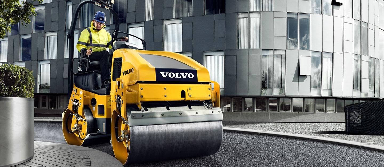 Xe lu duong Volvo
